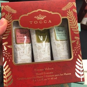 Tocca Hand Cream Set Cleopatra Florence Giulietta
